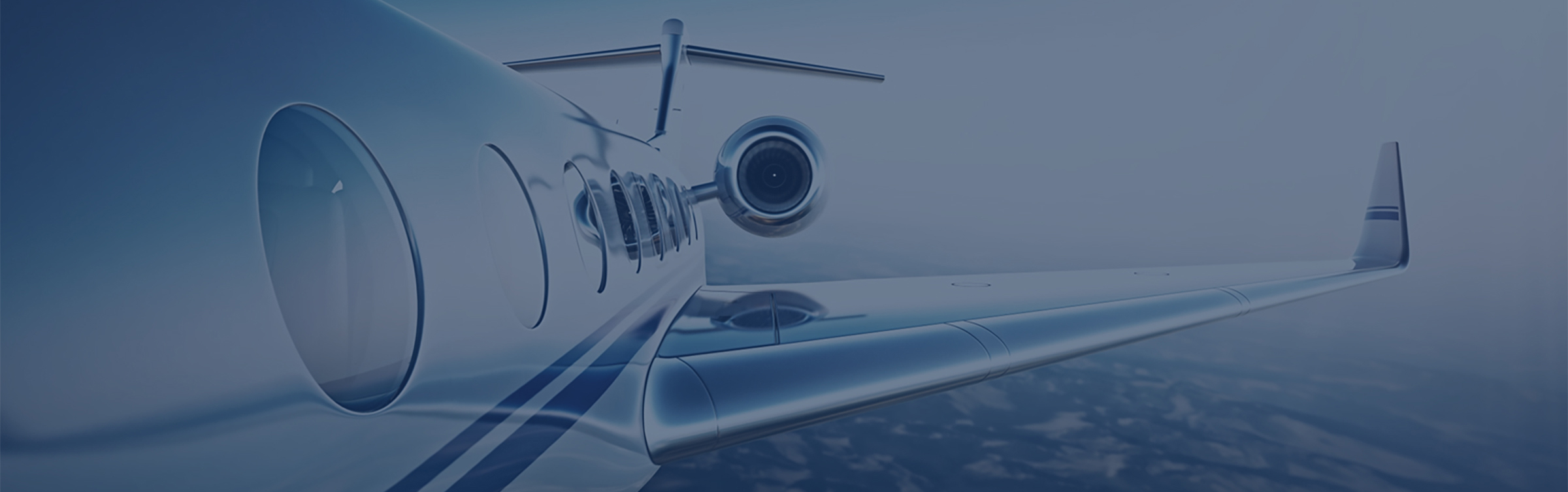 Private Jet Wing