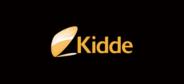 Kidde Logo on Black Background