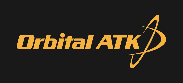 Orbital ATK logo on black