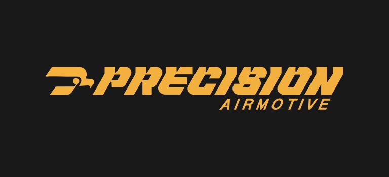 Precision Airmotive logo on black