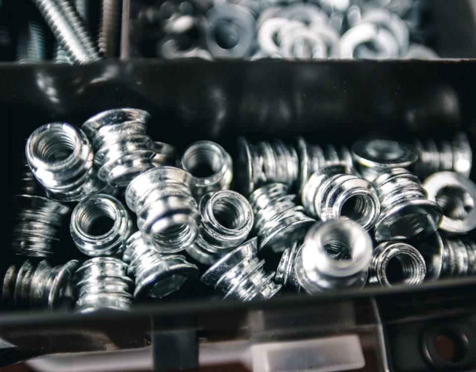 Kitting Bin of Parts